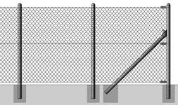 Montáž dráteného plotu
